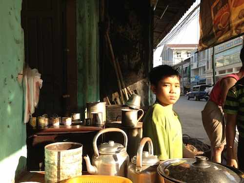 Real coffee at Mawlamyine, Burma, Myanmar