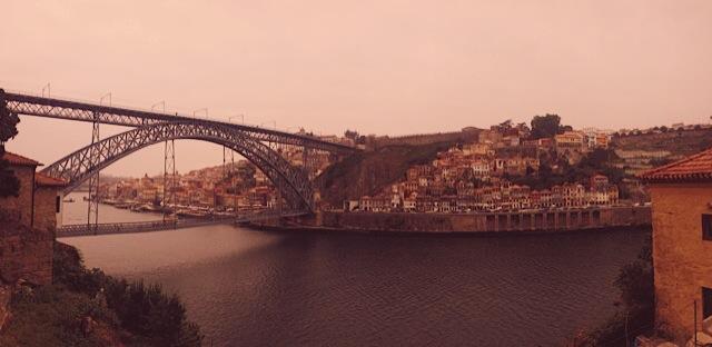 Ponte De Luis at Ribiera, Porto, Portugal