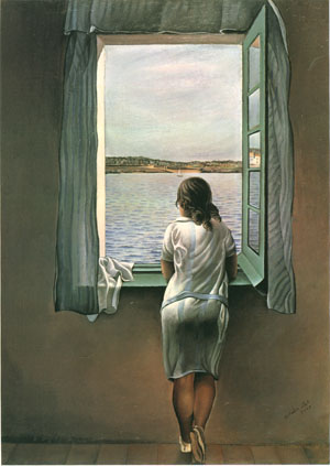 Girl at the Window @ Salvador Dali
